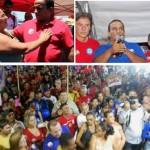 """""""Já andei em 136 cidades no RN, e por onde já passei tenho encontrado votos do Major Fernandes"""", disse Fátima."""