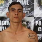 Polícia Civil prendeu assaltante em Caicó.