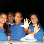 Major Fernandes agradece a todos pelos votos obtidos em Macau e outras cidades do estado.