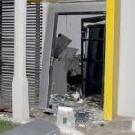 Bandidos explodem mais um caixa eletrônico na cidade de São Tomé.