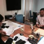 Prefeito pede que a CAERN isente a população de Macau da cobrança de conta de água em Agosto.
