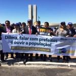 Prefeitos do RN estão em Brasília cobrando recurso e atenção aos municípios.