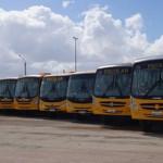 Vistoria do DETRAN aprova ônibus escolares de Guamaré.