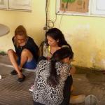 Venezuelanas são presas em Natal.