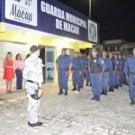 Comemorando a valorização da categoria por parte da prefeitura, Guarda Municipal recebe novo comandante.
