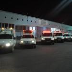 Prefeitura garante assistência com dez ambulâncias e o serviço do SAMU.