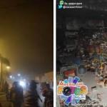 Incêndio destrói mercadinho em Macau.