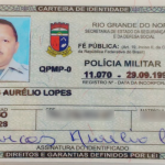 Policial militar é assassinado a tiros e bandidos levam pistola dele.