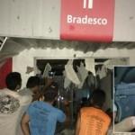 Agência bancária em Vera Cruz é explodida por quadrilha armada.