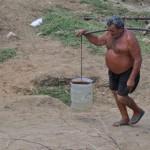 O retrato da seca no Rio Assú.
