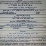 Secretaria de Justiça investiga soltura de preso com alvará falso no RN.