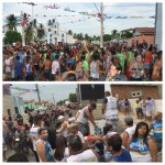 A Crise não chegou ao distrito de Barreiras que realiza arrastão com trios elétricos.