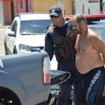 Policia Militar fecha mais uma boca de fumo na rua dos invasores em Guamaré.