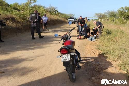 Corpo de jovem encontrado numa estrada carroçável de Mossoró/RN.