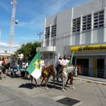 Cavalgada Albino Barbalho no dia do Trabalhador.