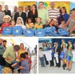 Prefeitura entrega kit escolar para os alunos da Rede Municipal.