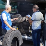 Prefeitura faz aquisição de peças e equipamentos para os ônibus escolares.