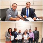 Presidente da Câmara, Jairton Medeiros assina parceria com a OAB para oferecer atendimento jurídico gratuito para população carente de Macau